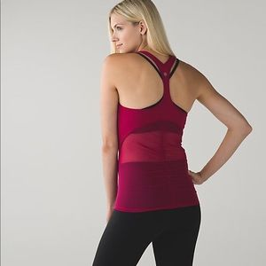 Lululemon Cool Racerback Shine On Tank 10 8